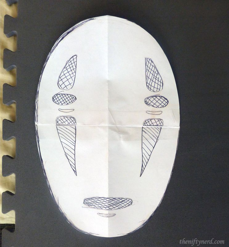 No Face Mask Template  Paper Face Mask Template