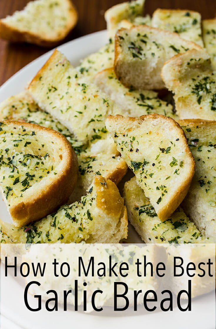 You\'re going to need this garlic bread recipe so you can serve it with spaghetti, soups and so muc