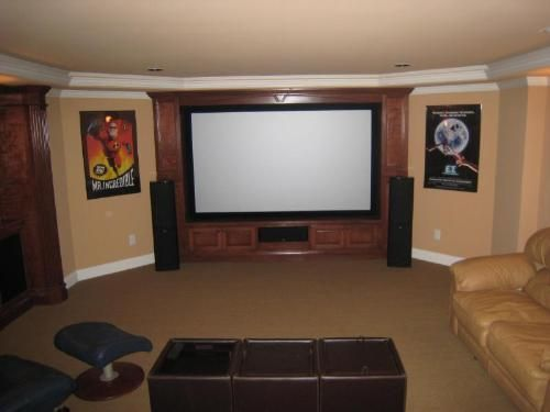 48 Awesome Basement Home Theater Ideas For Your Room Basement Stunning Basement Home Theatre Ideas Property