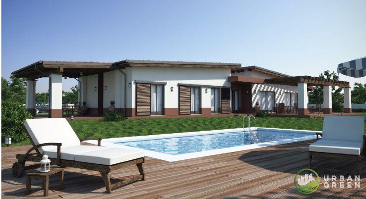 Progetto Casa in Legno Monopiano URB29 da 195 metri