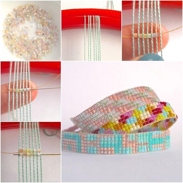 diy beaded friendship bracelet beading patterns