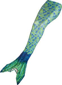 Mermaid Tail by Fin Fun – Swimmable Girls Tail – Aussie Green – No Monofin