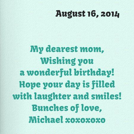 Punchbowl Birthday Card From Michael Contd 81614 Mikes