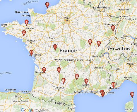 Map Of France With Cities In English.Sarlat Rocamadour Old News Here Are 16 Stunning But Lesser Known