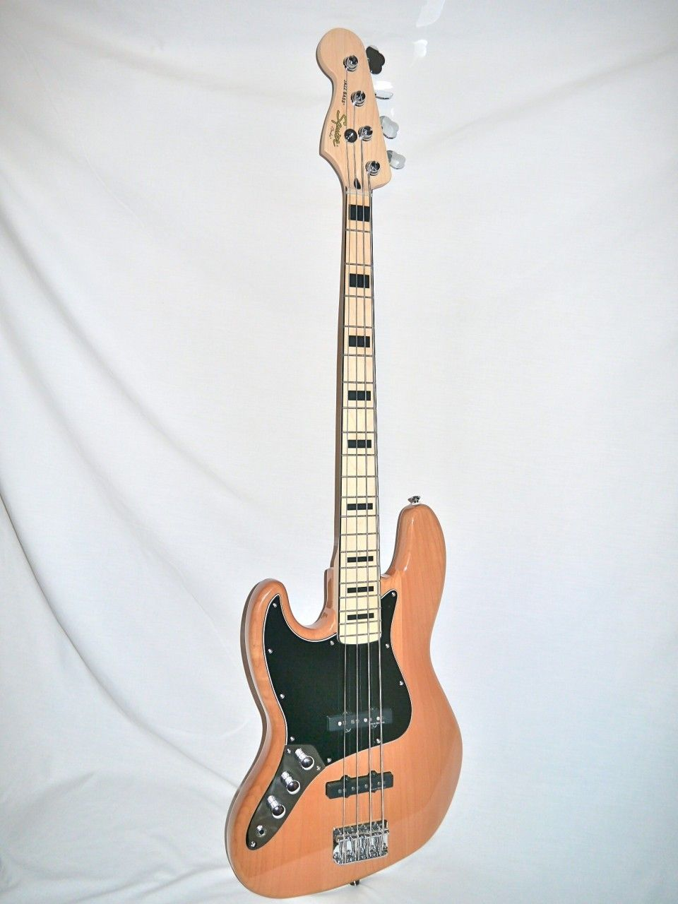 Indian Creek Guitars Squier Vintage Modified 70 S Jazz Bass Natural Left Handed Http Www Indiancreekguitars Com Squier Vintage Mo Squier Guitar Bass