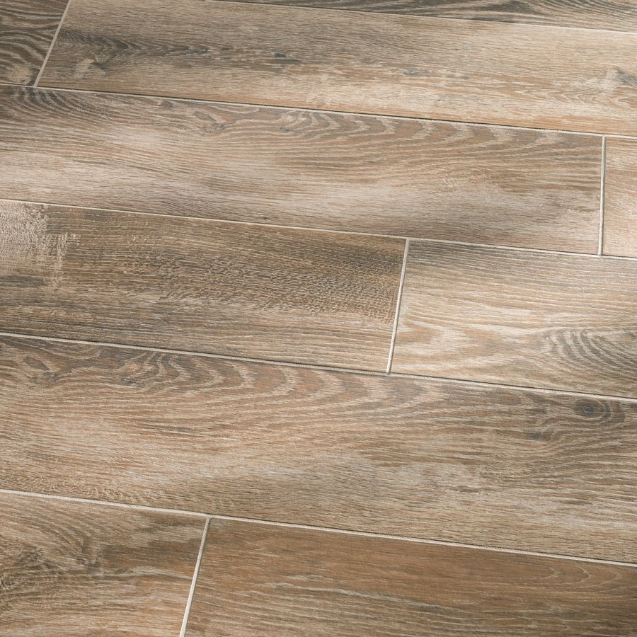 Faux wood tile available shop style selections natural for Fake hardwood tile