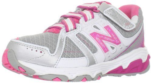 New Balance KV689 Tie Running Shoe (Little Kid/Big Kid) on Sale