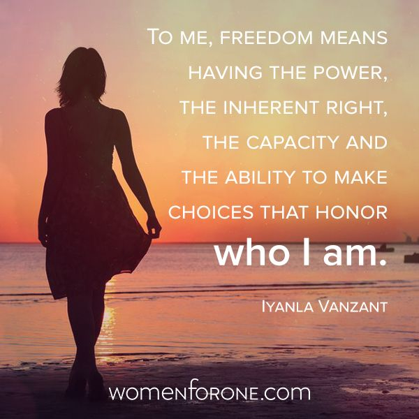 The definition of true freedom (With images) | Freedom, Iyanla ...
