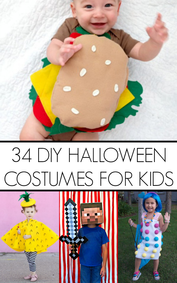 34 diy kid halloween costume ideas - Halloween Costumes Diy Kids