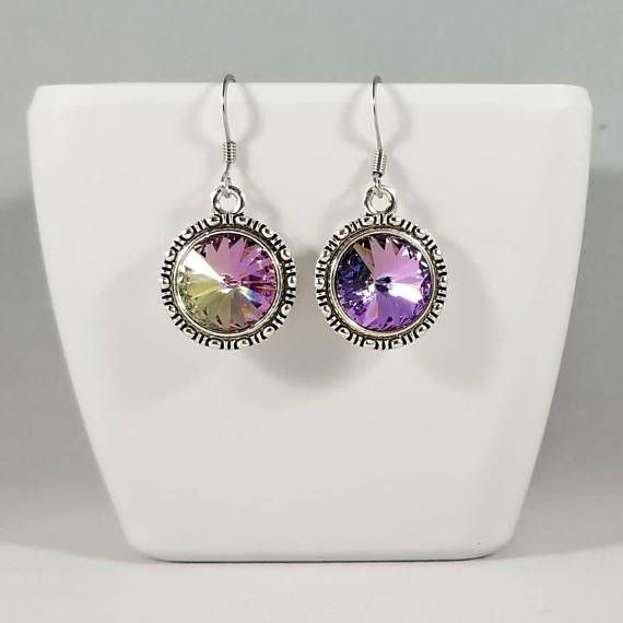 Check out this item in my Etsy shop https://www.etsy.com/listing/585180119/crystal-earrings-round-crystal-earrings
