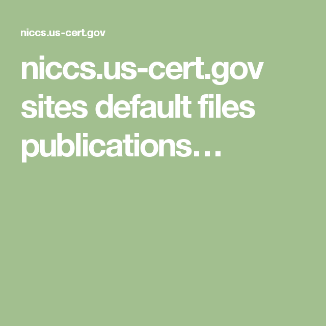 niccs.us-cert.gov sites default files publications…