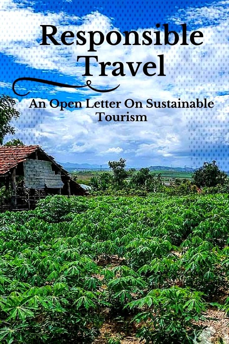 Responsible Travel – An Open Letter On Sustainable Tourism | NOMADasaurus Adventure Travel Blog -