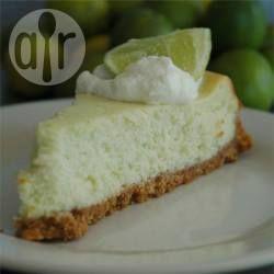 Pastel de queso y limón agrio