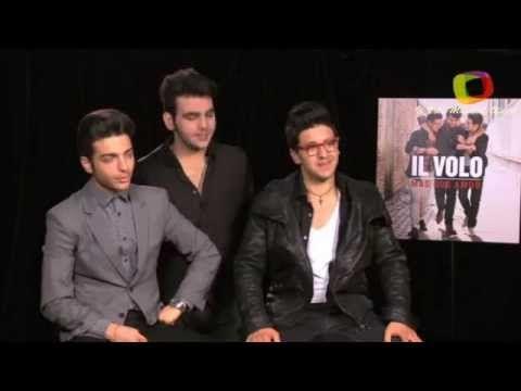 "Il Volo talks about their album ""Más que Amor"" to Miami  Terra/Music City. (Spanish language)."