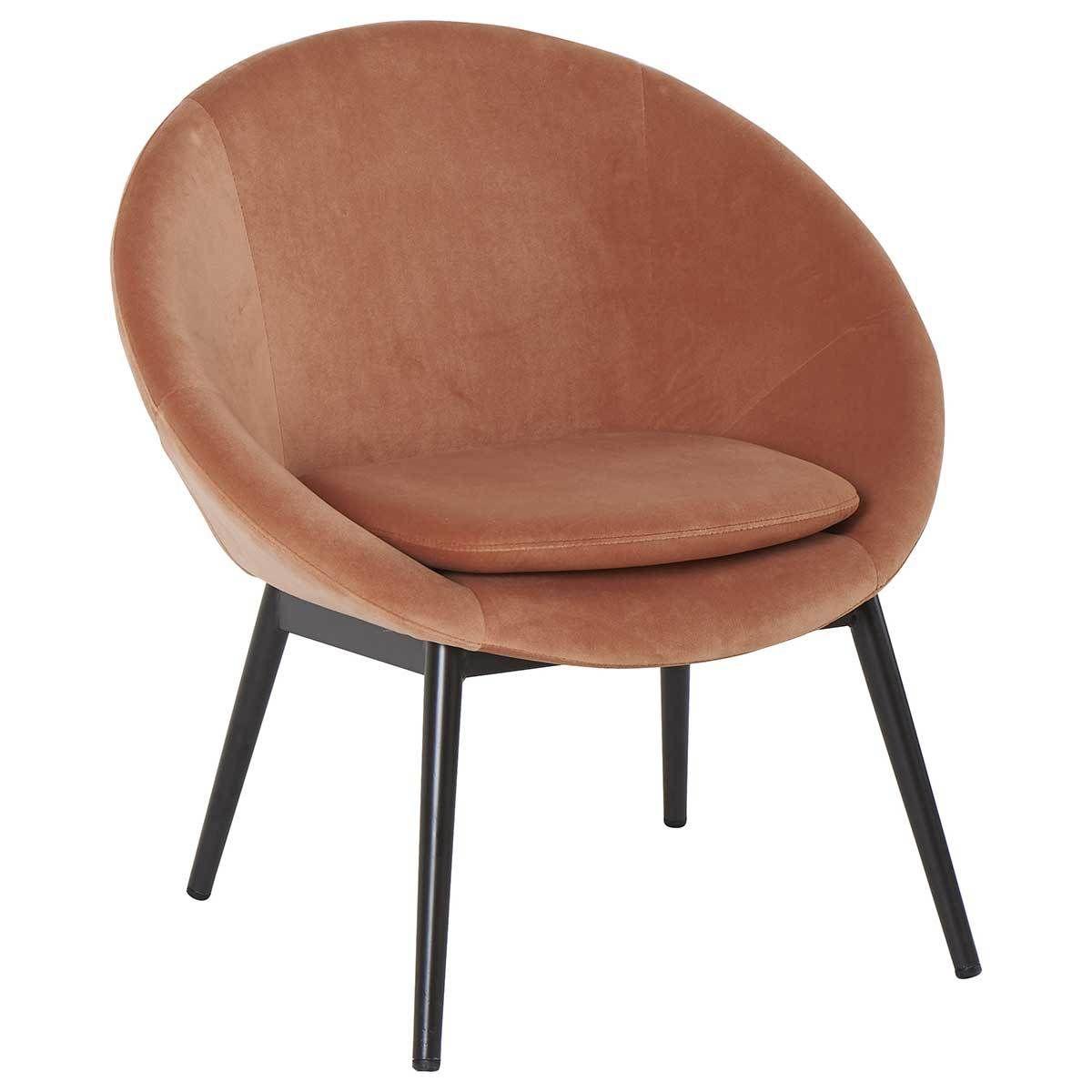 achat athezza fauteuil ruvana rose poudr terracotta 517241 pas cher sur maginea la - Fauteuil Rose Pas Cher
