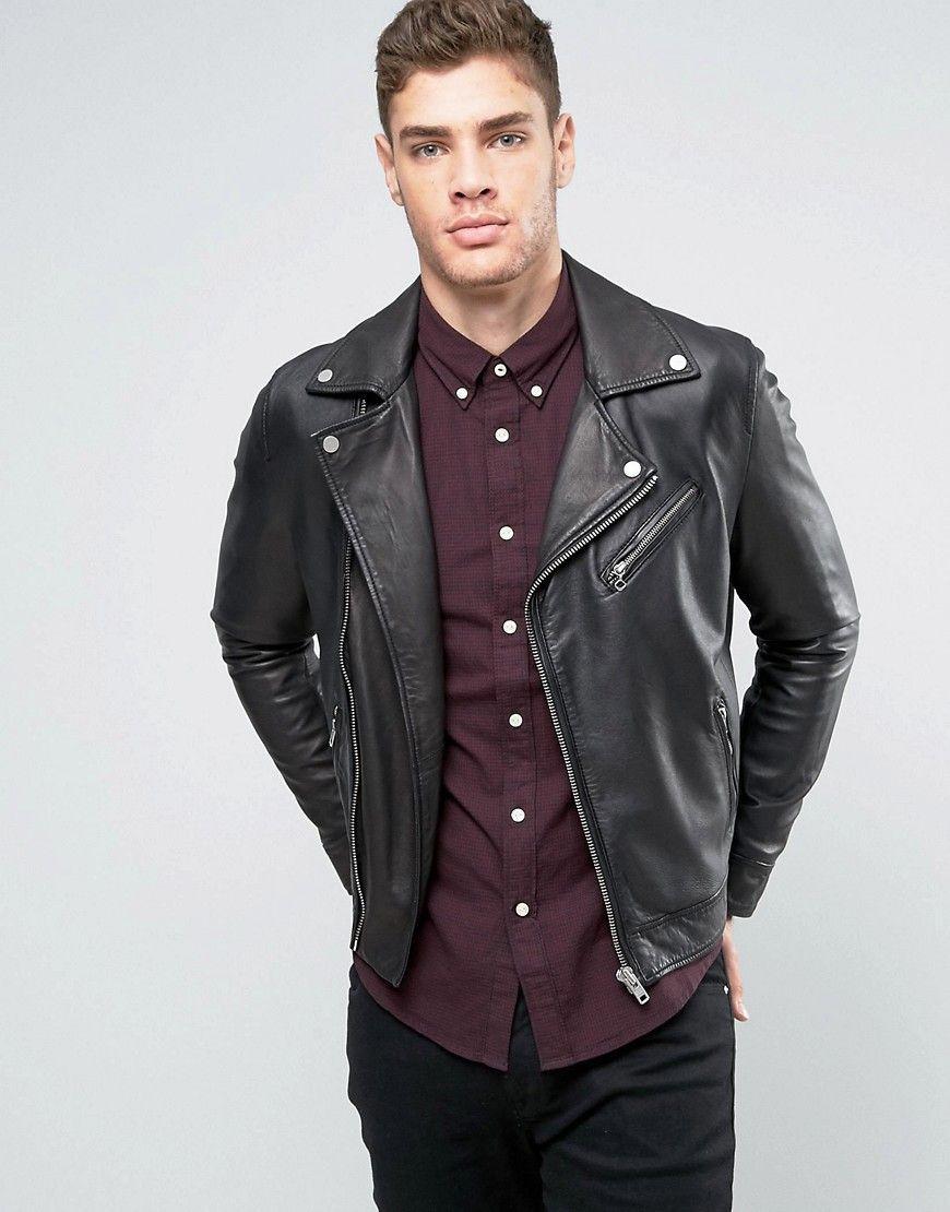 Biker Leather Jacket Lee Pinterest Products F7q80S