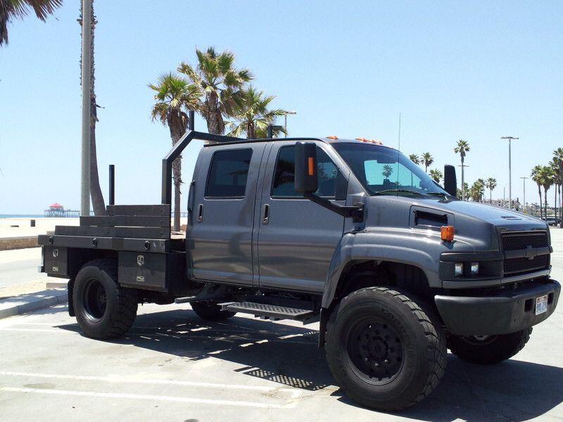 Chevy Kodiak Flatbed Lifted Jacked Up Trucks Lifted Trucks Medium Duty Trucks