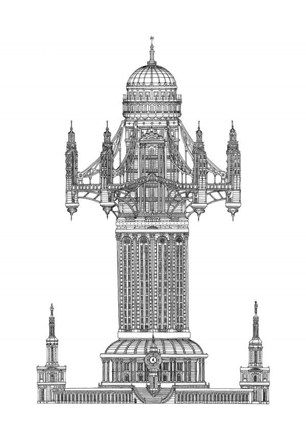 Towering Building Illustrations To Explore