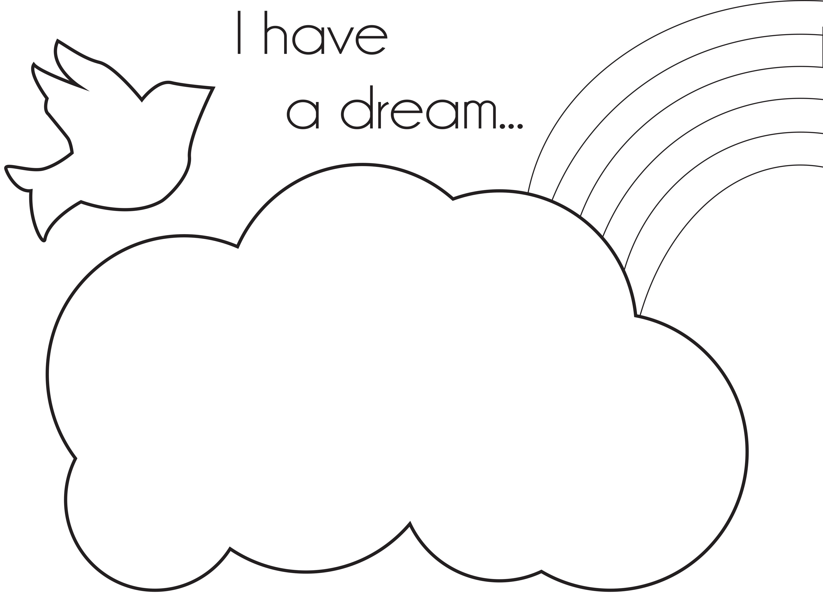 Preschool coloring pages martin luther king - Free Coloring Page On Shoptippi Com Blog For Celebrating Martin Luther King Jr
