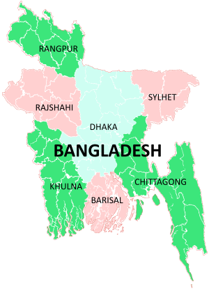 A clickable map of bangladesh exhibiting its divisions places to a clickable map of bangladesh exhibiting its divisions gumiabroncs Images