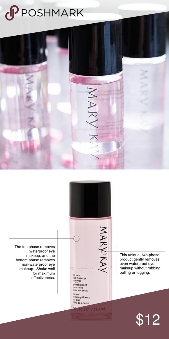 Last One Mary Kay Oil Free Eye Makeup Remover Nwt