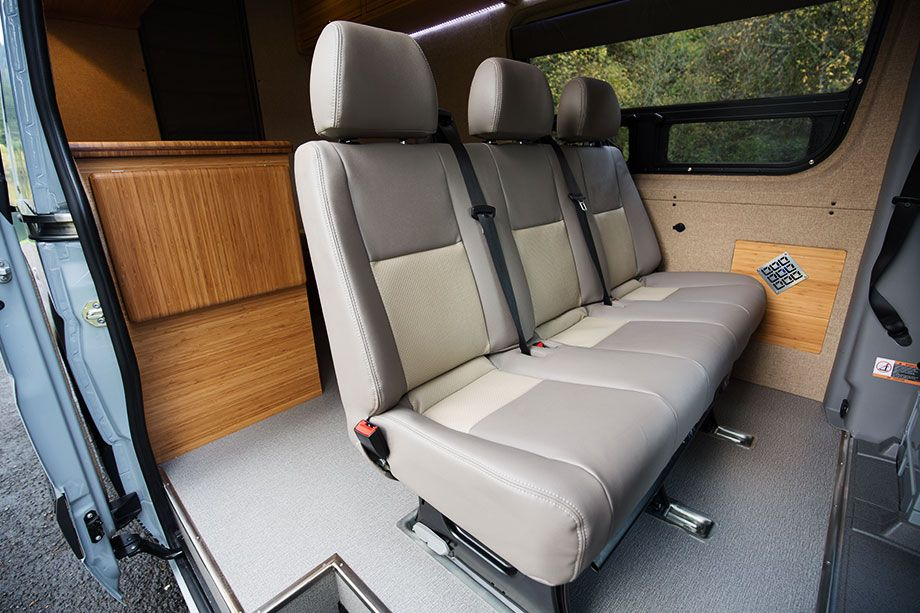 Removable 3 Person Bench Seat Outside Van Automoventurehicle