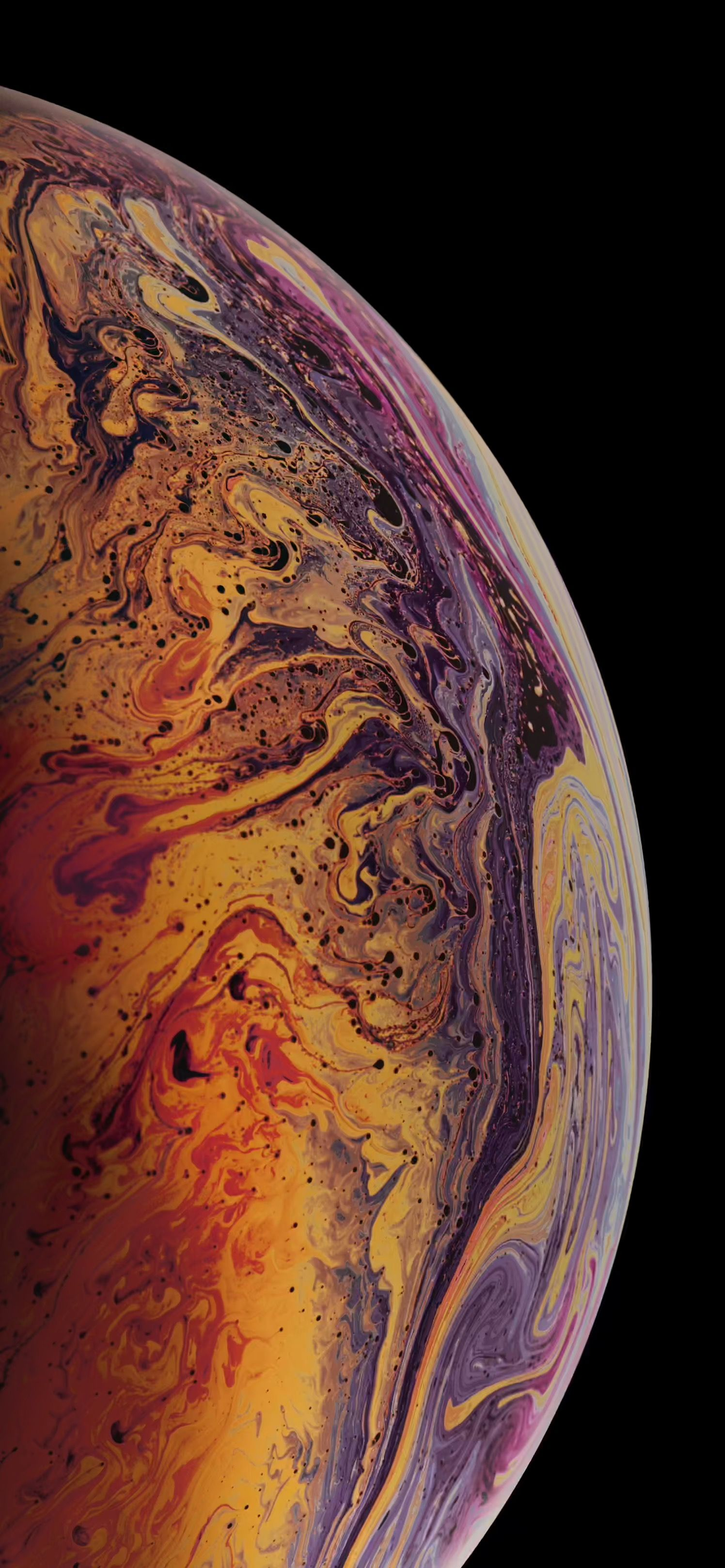 Download The 3 Iphone Xs Max Wallpapers Of Bubbles Osxdaily Iphone Wallpaper Earth Iphone Wallpaper Ios Iphone Wallpaper Images