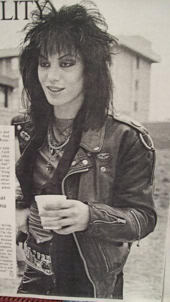 Joan Jett late 1970s early 1980s