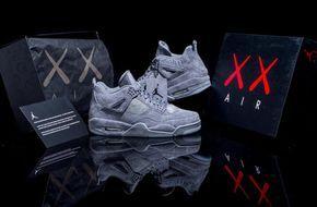 new product b2902 70be8 In-Depth Look At The KAWS x Air Jordan 4