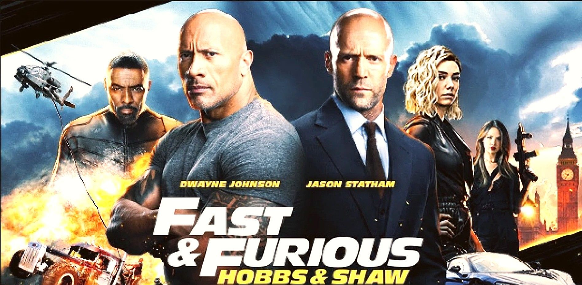 Movie Review Fast Furious Hobbs Shaw Dwayne Johnson Jason Statham Take You Fast And Furious Jason Statham Dwayne Johnson
