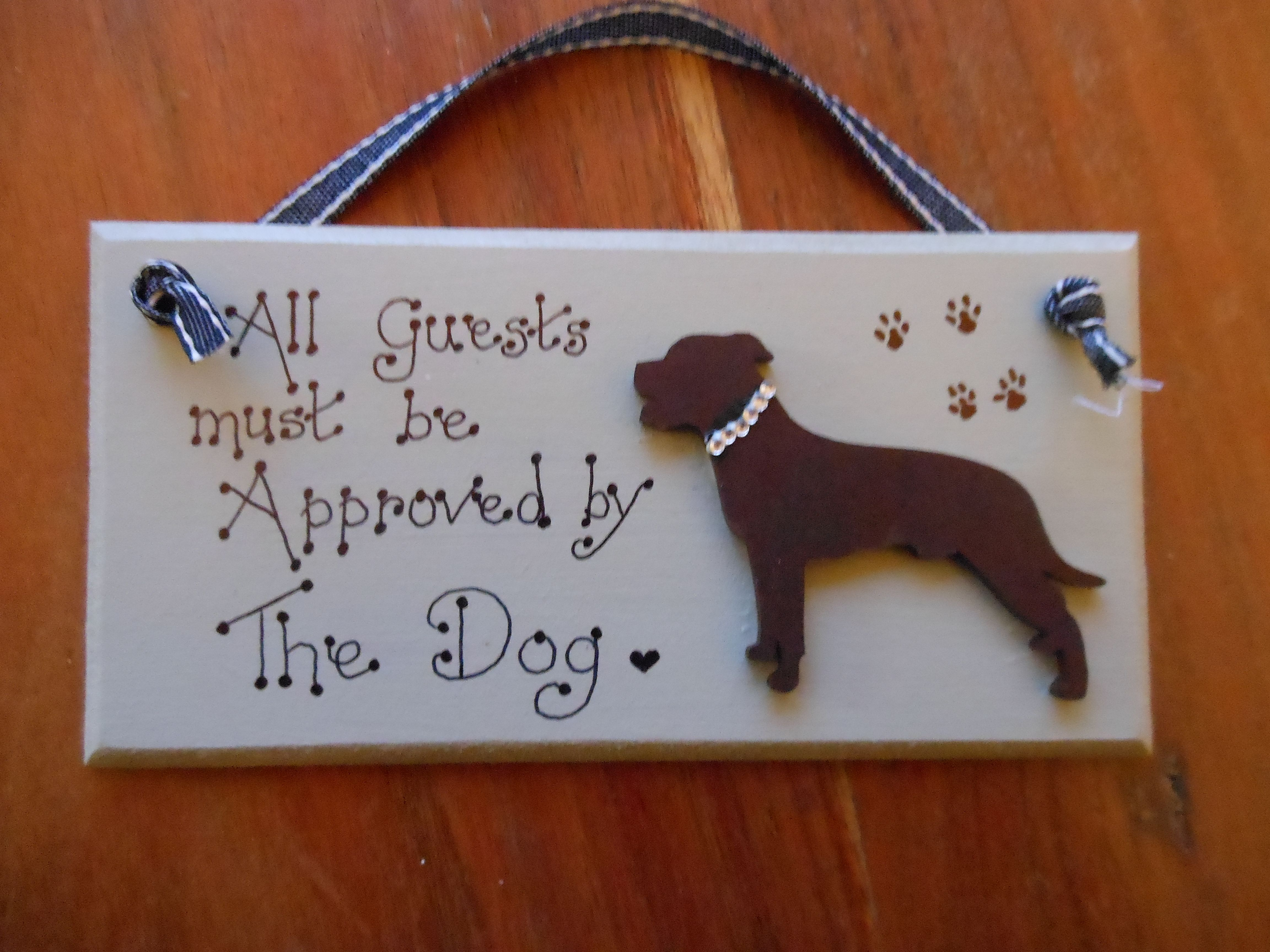 Bespoke personalised handmade wooden mdf plaques - Wooden door signs for home ...