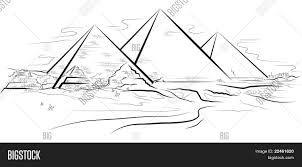 Resultado De Imagem Para Como Desenhar Piramides Do Egito