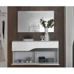 Photo of Delife cloakroom mirror Willa 102×60 cm silver large mirror surface, mirror DeLifeDeLife