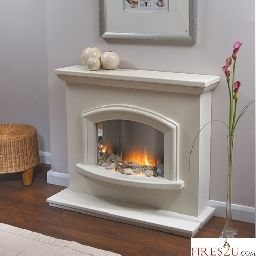 The Flamerite Mercia Electric Fireplace Suite Can Be Easily
