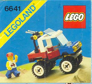 4-Wheelin' Truck - Legoland 6641