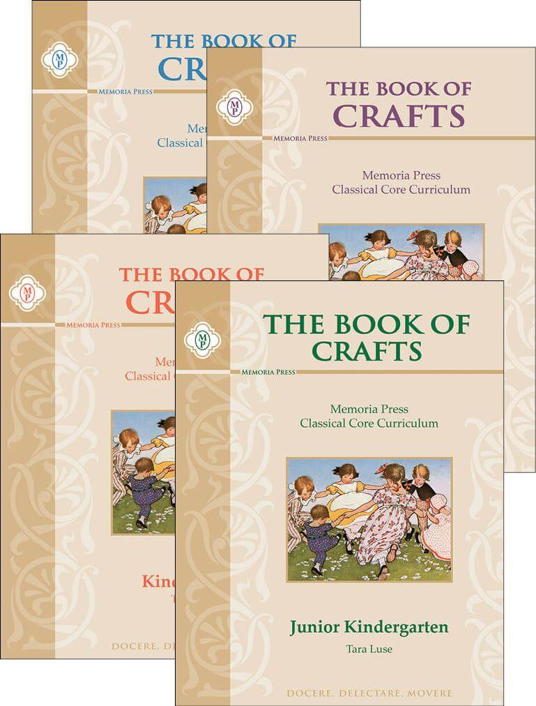 Book Of Crafts Memoria Press Classical Christian Education First Grade Crafts Book Crafts Homeschool Crafts