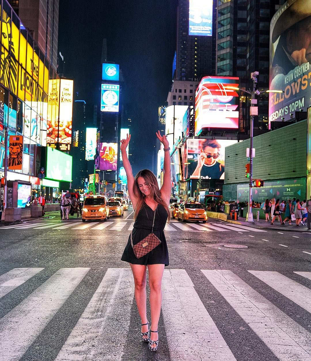 Times Square, New York City. Friday night vibes! New
