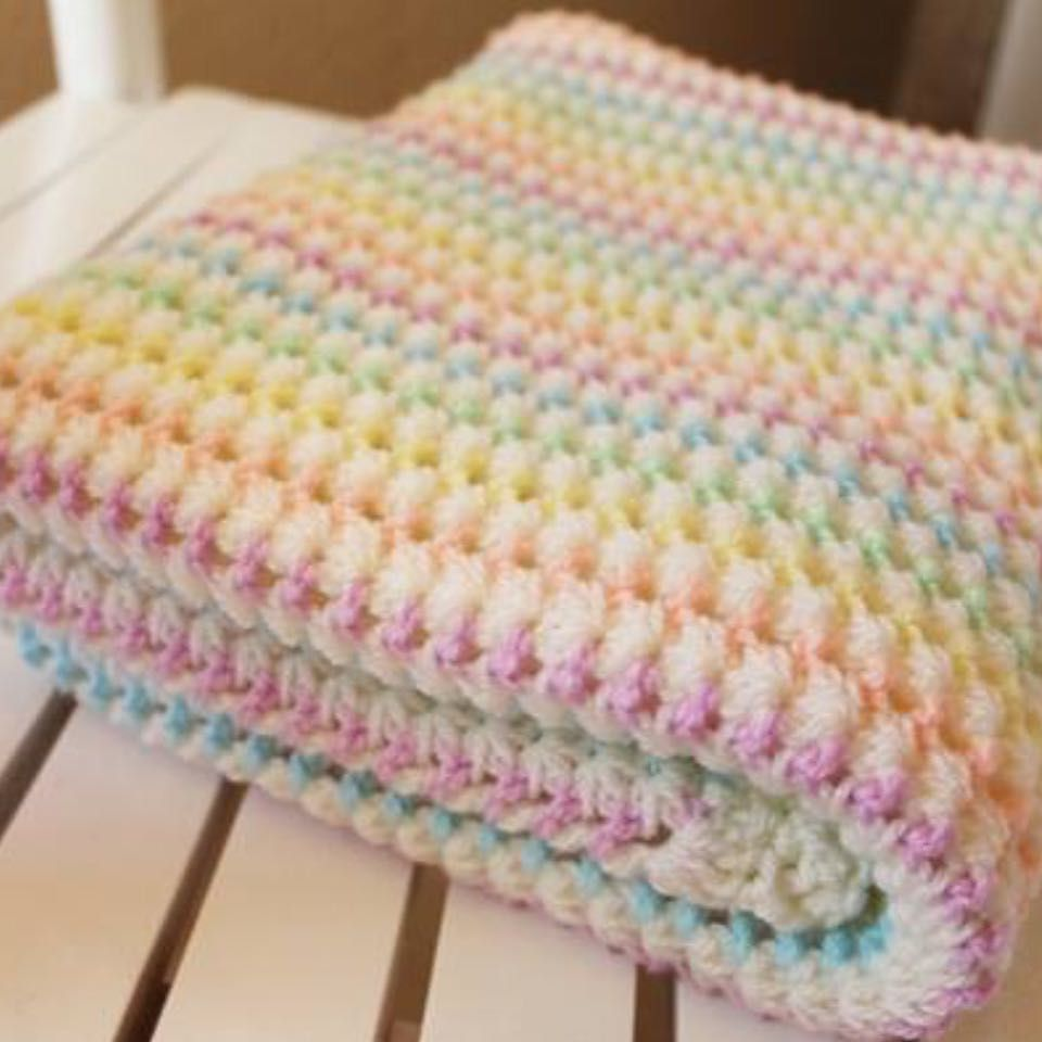 Some soothing colours in this blanket Style craft special dk ...