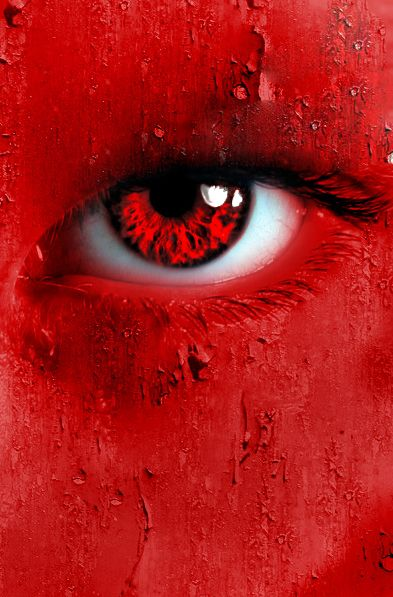 Red. focuses on red. okay ill put more for this one. ive never done anythign like this before, and after this serries, i may do more. this piece has really intrigued me. STOCK Eye: ~sayra-stock STO...