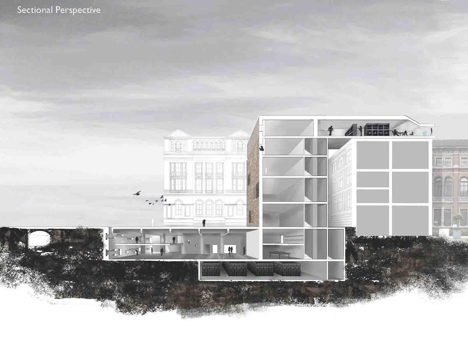 Building underground architecture elevation google search