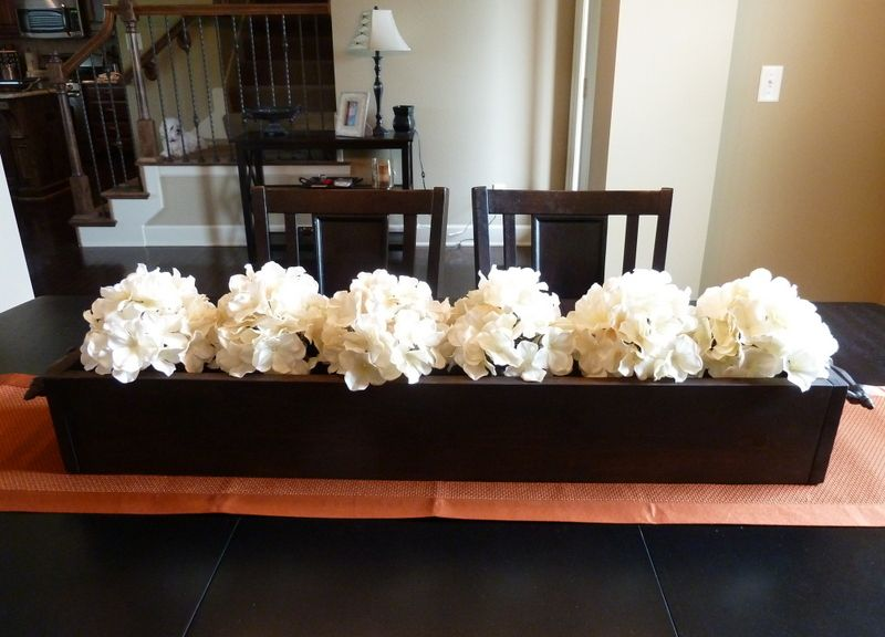 Diy Homemade Centerpiece Dining Room Table Centerpieces Dining