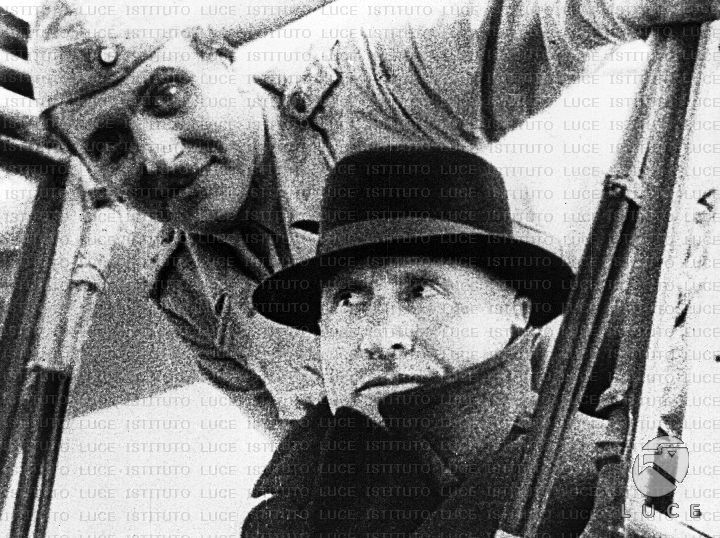 Mussolini and Otto Skorzeny, Gran Sasso raid september ...