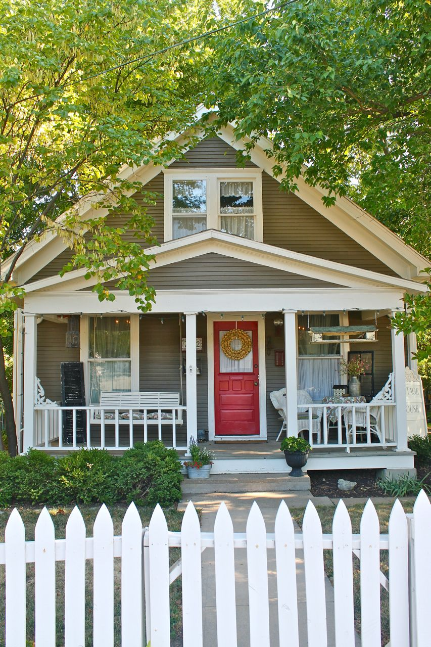 the dreamiest home of them all! sigh....... | cottages | Pinterest ... for Vintage Farmhouse Exterior  570bof