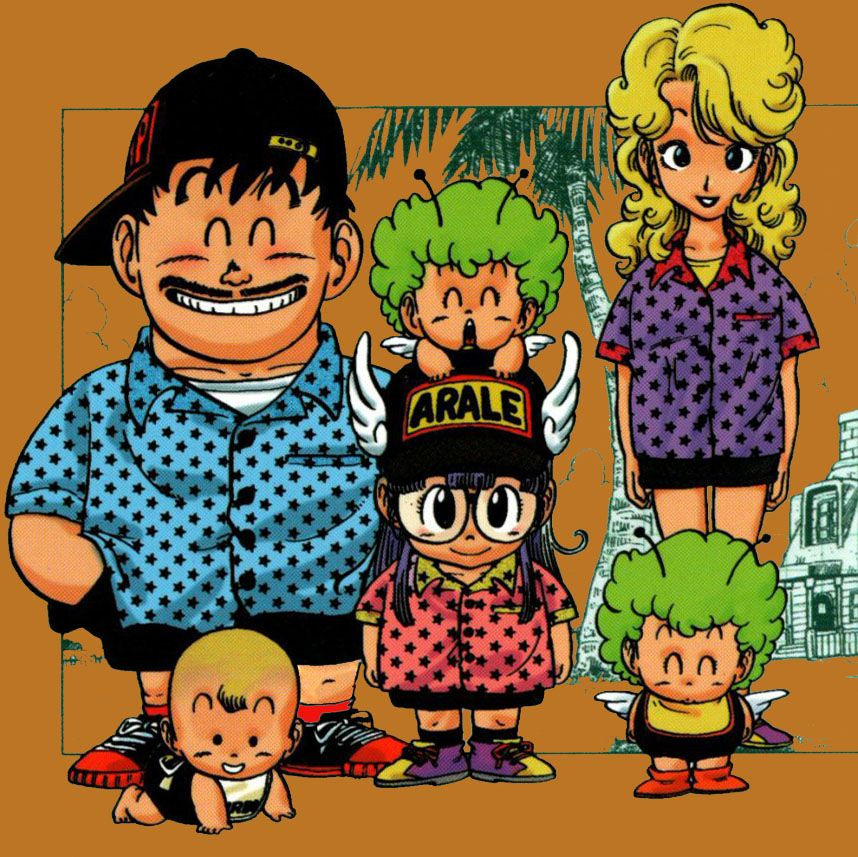 Dr Slump And Family