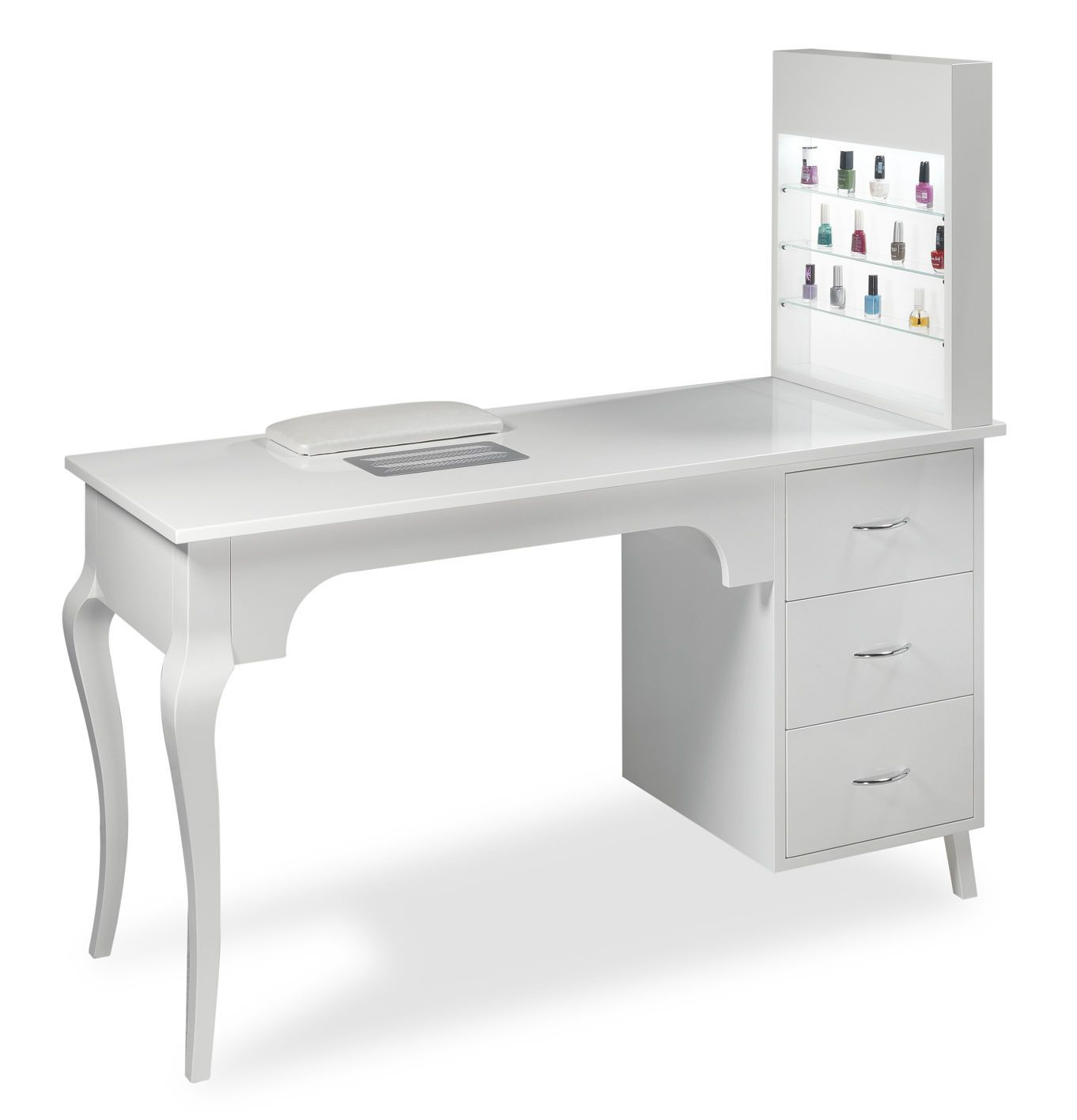 Manicure table with vacuum cleaner estetica vezzosi marylin nails vezzosi pedicure chairs - Table bar salon ...