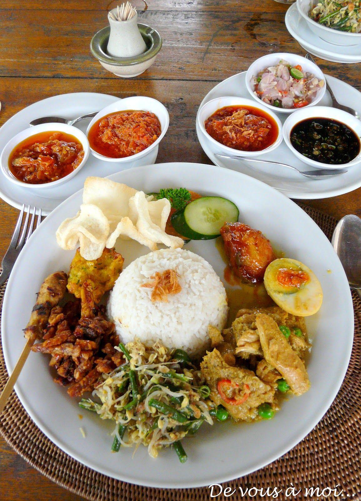 Retour à Bali Avec Cette Recette De Nasi Goreng Servi Dailleurs - Cuisine balinaise