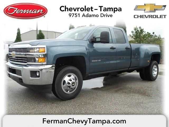 2015 Chevrolet Silverado 3500hd Lt Blue Granite Metallic