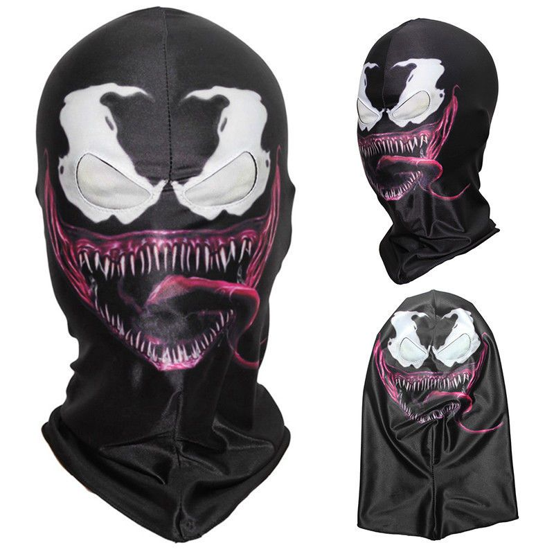 3D Venom Spiderman Scary Balaclava Cosplay Costume Halloween Full Face Mask 573d75260