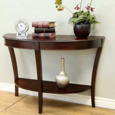Home Sofa Table Decor Half Round
