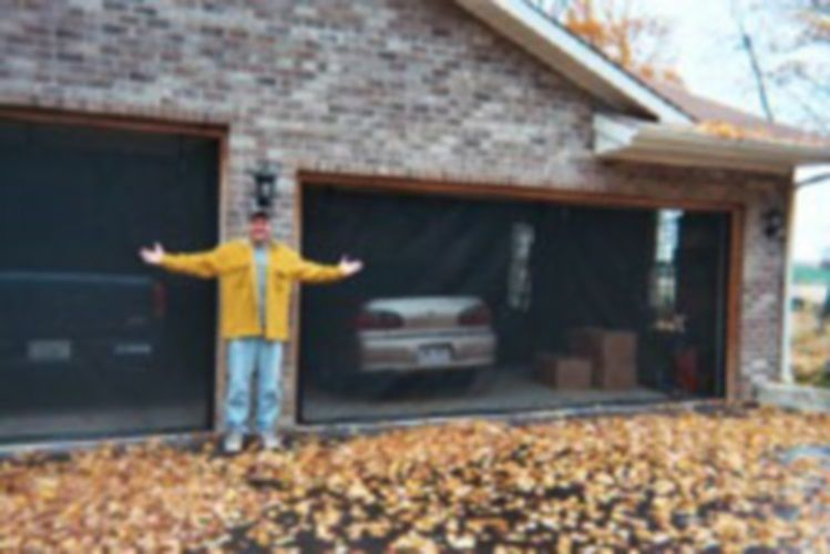 garage door screen 9 x7 made in usa top quality